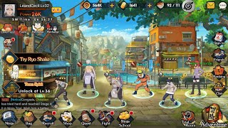 game Naruto RPG (English) android  Ultimate Ninja  Ninja King