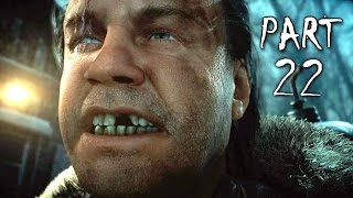 Until Dawn Walkthrough Gameplay Part 22 - Infected (PS4)