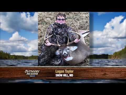 Outdoors Delmarva:  Youth Pictures From Maryland And Delaware Deer Hunts 2019