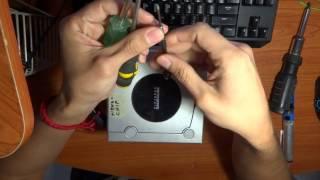 Reparando laser de NINTENDO GAMECUBE ( Calibracion )