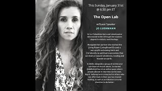 The Open Lab - Jo Luehmann, Speaker - January 31, 2021