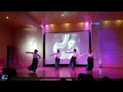 gala rincon flamenco  gracias a la vida
