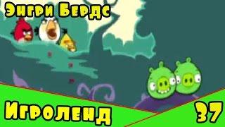Мультик Игра для детей Энгри Бердс. Прохождение игры Angry Birds [37] серия