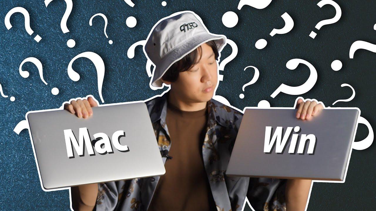 映像編集に最適なノートPCとは!?HP ENVY 15(Win)とMacBookPro2020を徹底比較!