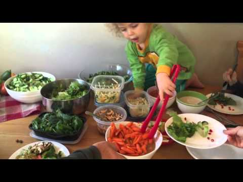 VLOG: My little Raw Vegan Thanksgiving just fun with family