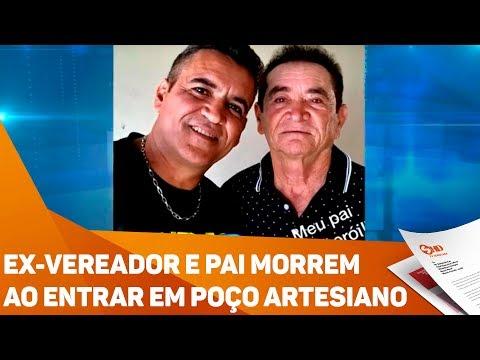 Ex-vereador e pai morrem ao entrar em poço artesiano - TV SOROCABA/SBT
