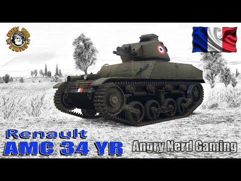 War Thunder: AMC 34 YR, French, Tier-1, Reserve Light Tank