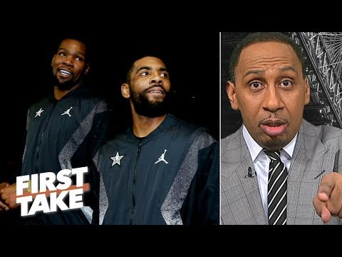 Kyrie Irving is 'beginning to tick me off' with whining about media – Stephen A. | First Take
