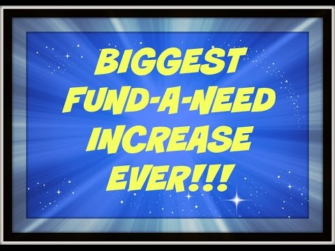 Fund-A-Need Auction Biggest INCREASE EVER