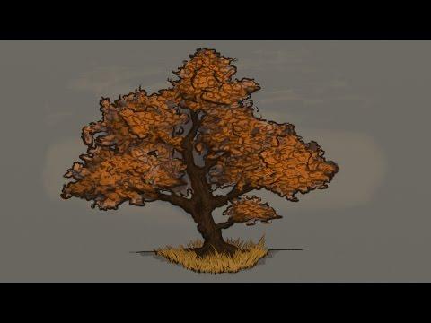 Creating Basic Game Assets [Timelapse] [01] - Cartoony Tree