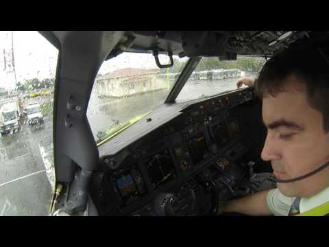 Pilot stories: Departure from Krasnodar.