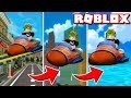 ROBLOX VENTURELAND / RACING WITH MY DAD WITH MORPHKARTS !