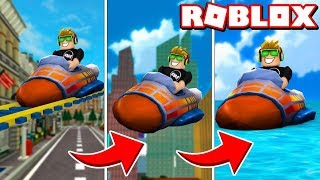 ROBLOX VENTURELAND / RACING WITH MY DAD WITH MORPHKARTS ! / BLOX4FUN