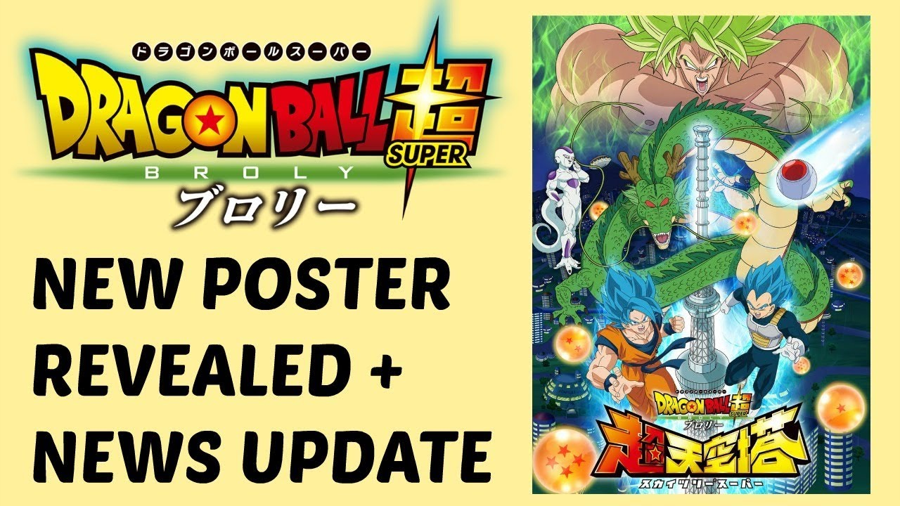 New Dragon Ball Super Broly Movie Poster Event