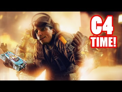 C4 Time ! Rainbow Six Siege ! Morocco Gamer !