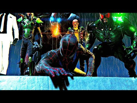 Spider-Man (PS4) - Sinister Six Defeats Spider-Man