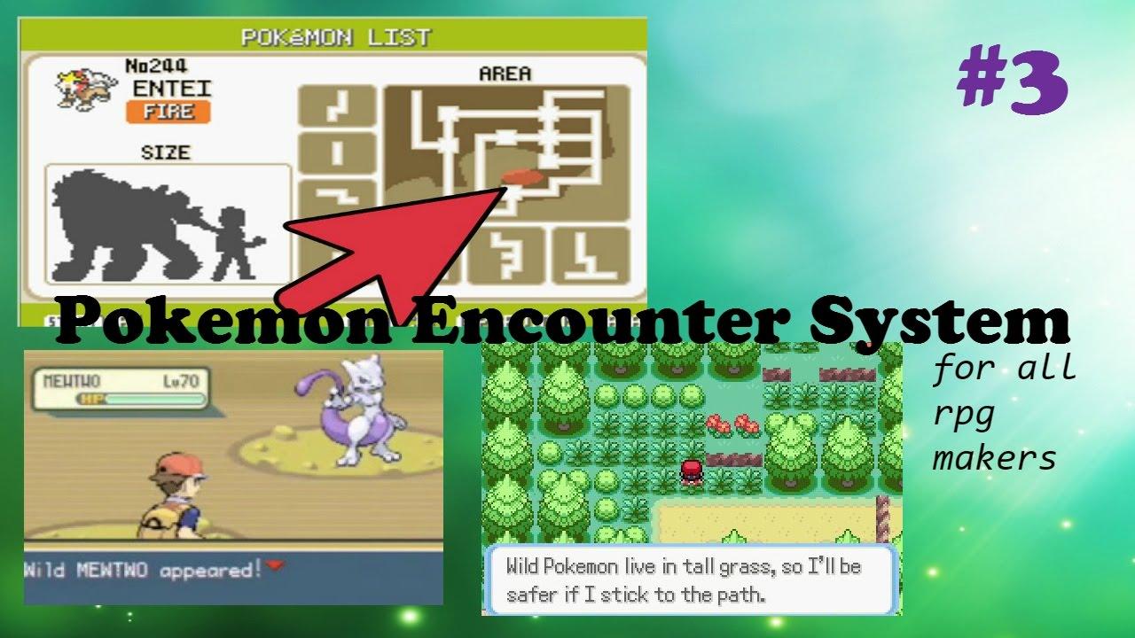 RPG Maker MV Tutorial- Pokemon Encounter System