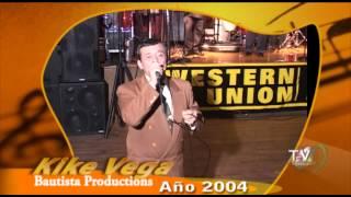 LEONARDO KIKE VEGA SHOW MUSICAL 2004 Bautista tv.
