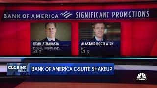 Bank of America announces C-suite shakeup