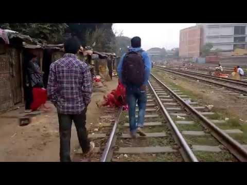 Tejgaon Railway-Side Slum Visit