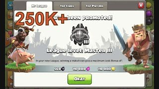 Clash of Clans How to push Th7 to Master League 2017 (Without using Dragons)