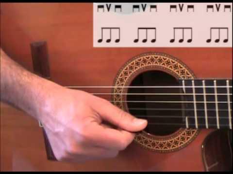 Lezioni di chitarra: I tipi di pennata.