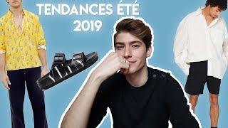 TENDANCES MODE HOMME À SUIVRE CET ÉTÉ 2019
