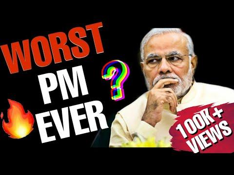 PM MODI - WORLD'S WORST PRIME MINISTER?