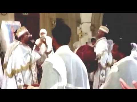 Kefale Alemu on the Sundays' Prayers at the London Reese Adbarat St Mary of DebreTsion
