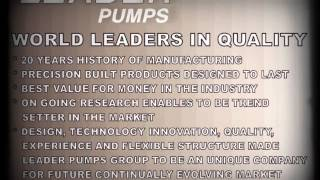 An Introduction of Leader Pumps