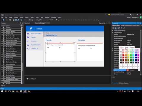 Bunifu UI NET Framework Demo Using C#  NET by KeepToo