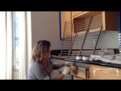How We Weather Orange Oak Cabinets