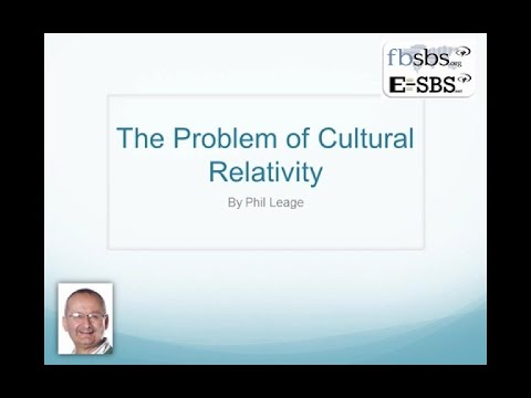 The Problem of Cultural Relativity