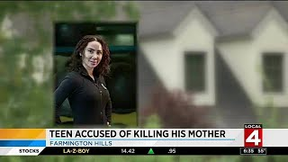 Teen accused of killing his mother