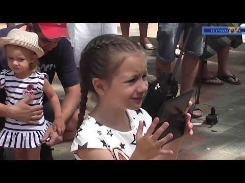 Празднование Дня России в Зернограде