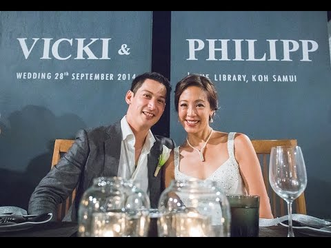 Vicki + Philipp Wedding Teaser The Library Samui - Thailand