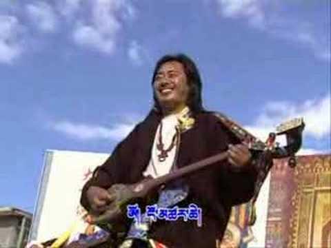 Tibet: Amdo Tibetan song--How wonderous! by Tharchen 吐蕃音乐