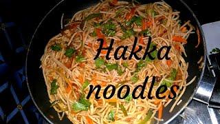 #hakka #noodles #yummm #Veg #Chinese Hakka noodles Chinese recipe ||popular recipe.