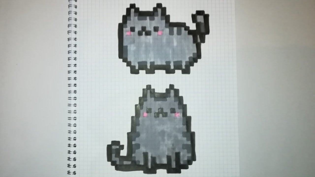 Pixel Art Chat Facile