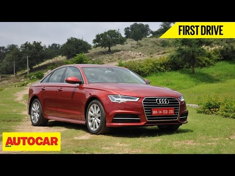 Audi A6 Matrix 35 TDI | First Drive | Autocar India