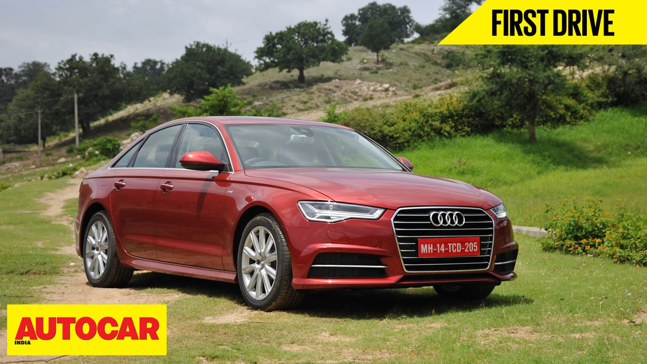 Audi A6 Matrix 35 TDI  First Drive  Autocar India  YouTube