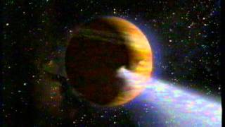 Comet Hits Jupiter - Shoemaker-Levy 9 - BBC Animated Guide 1994