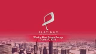 Weekly Real Estate Investment News - Week of Jun 13 2016