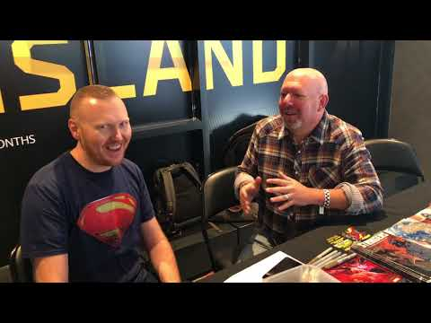 Marc Guggenheim  at Ace Comic Con by DC World.