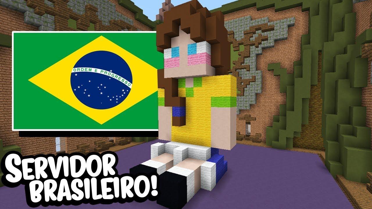 Minecraft: JOGANDO BUILDÃO EM SERVIDOR BRASILEIRO! 11 (BUILD BATTLE)