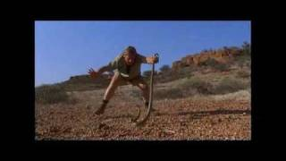 Steve Irwin Plays With Inland Taipan (Fierce Snake)