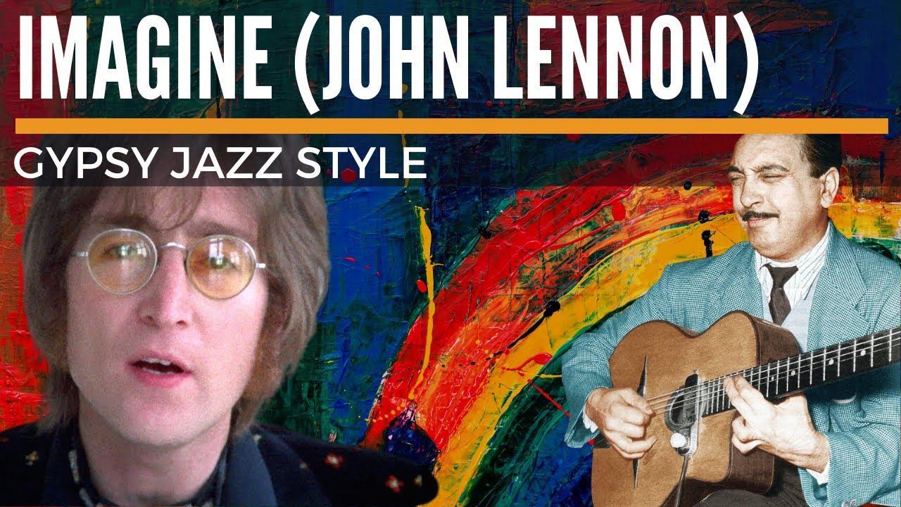 Imagine (John Lennon) - Gypsy Jazz Style Guitar