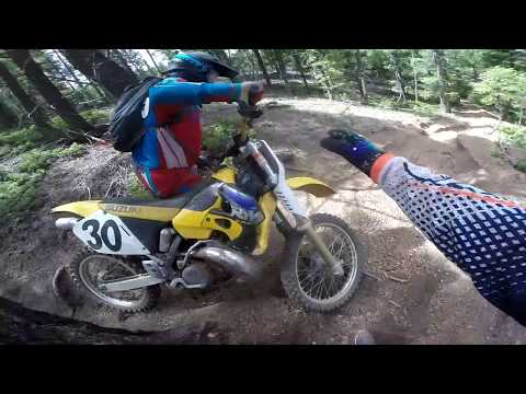 The Trails Are Making Everyone Fall! | Day with DeeO Trail Riding Part 2