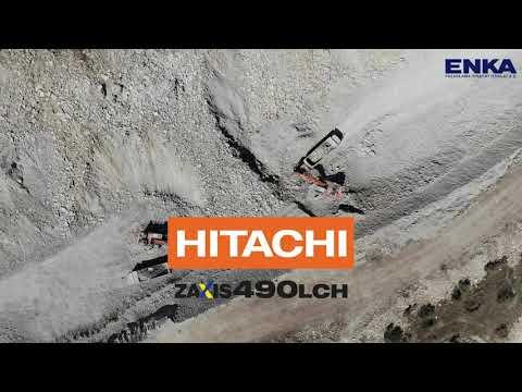 Hitachi ZX490LCH-5A Yol Yapım Projesi / Road Construction Project