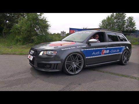 Audi RS4 Avant B7 w/ PES Supercharger (556HP) - SOUND!